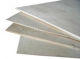 Překližka truhlářská bříza / rozměr 1525*1525 mm / jakost BB/CP