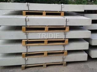 Podhrabová deska / délka 2950 mm / výška 200 mm / šířka 50 mm