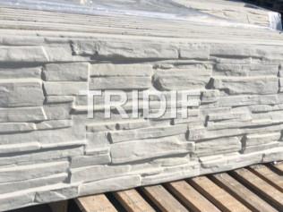 Betonový panel s otiskem – kámen – výška 50 cm