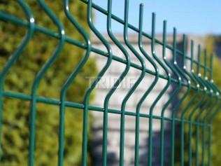 Panel 3D zelený / průměr drátů 4,0 mm / délka 2500 mm
