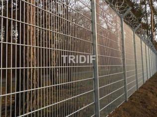 Panel 2D zinkovaný / průměr drátu 6-5-6 mm / délka 2500 mm
