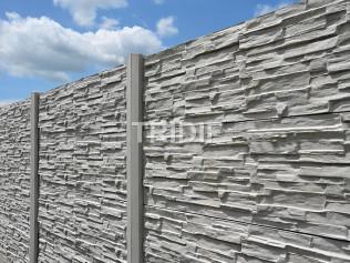Betonový plotový díl - kámen