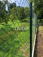 Jarošov u Uherského Hradiště 2020 - PLETIVO ALU GREEN 2,15 MM se zapleteným napínacím drátem